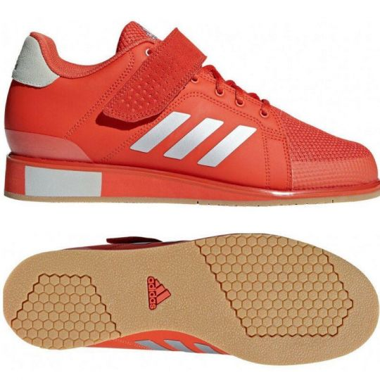 Bottes de musculation Adidas Power Perfect III - Rouge