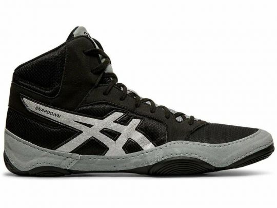Asics Snapdown 2 Wrestling Boots - Black/Silver