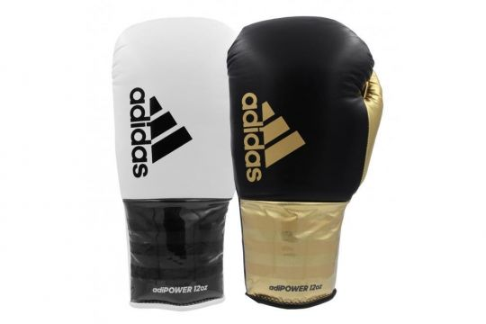 Adidas Adipower Lace Boxing Gloves