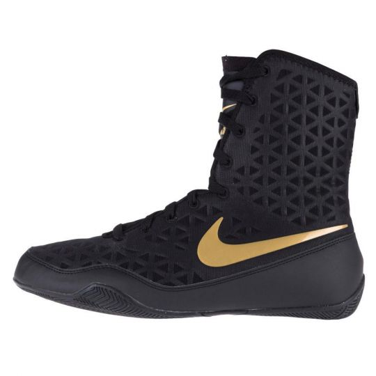 Nike Ko Boxing Boots - Black/Gold