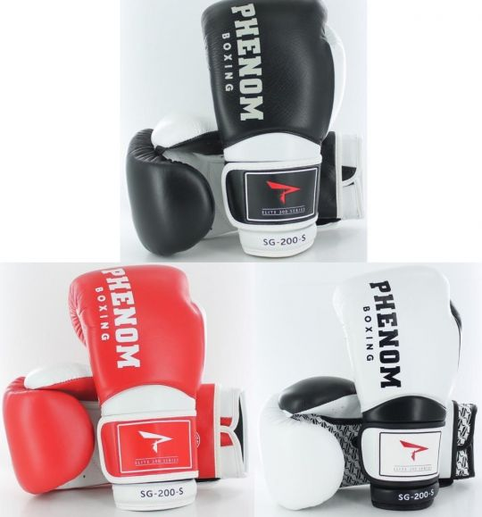 Phenom Boxing Professional Velcro Sparring Gloves