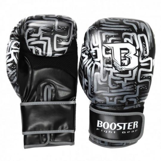 Booster Labyrint Boxing Gloves - Black