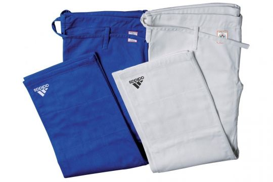 Adidas Champion II Judo Trousers - IJF Approved | Clothing | Fight Equipment UK
