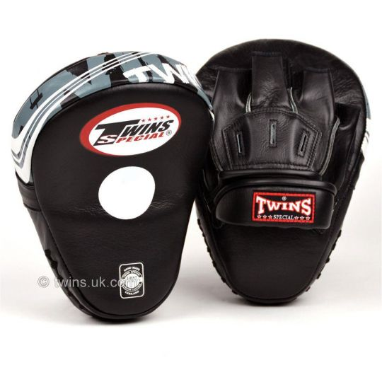 Twins Leather Curved Focus Pads | Equipment | Fight Equipment UK