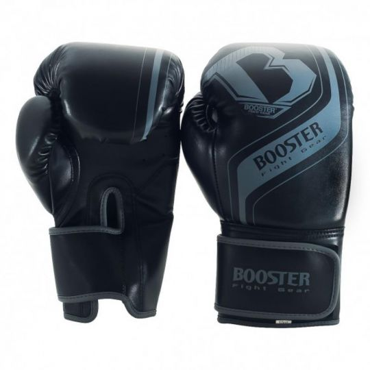 Booster BT Enforcer Sparring Boxing Glove - Black/Grey