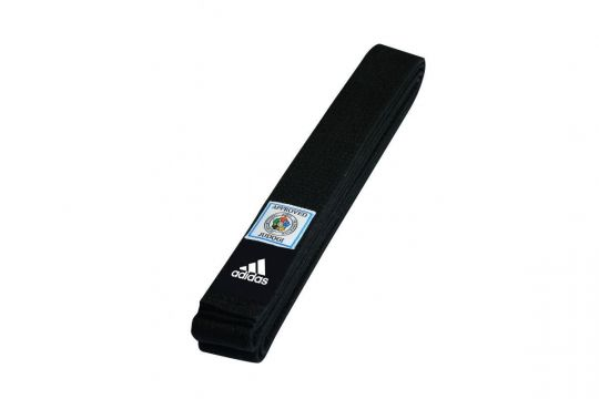 Adidas IJF Approved Black Belt