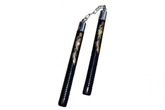 Cimac Gold Dragon Nunchaku | Clothing | Fight Equipment UK