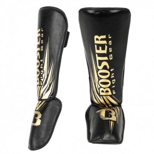 Booster SG Champion Kids Shin Guard - Black/Gold