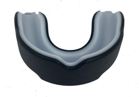 Grapplers Guard Mouth Guard - Black - Adult