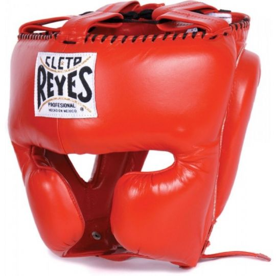 Cleto Reyes Closed Face Headguard - Red