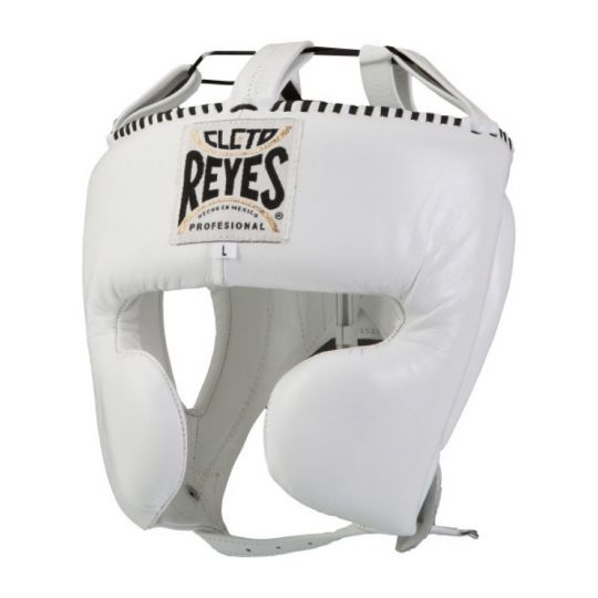 Cleto Reyes Closed Face Headguard - White