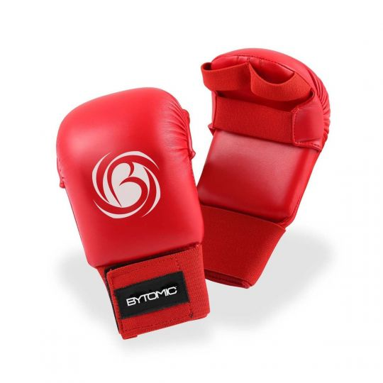 Bytomic Tournament Karate Mitt Without Thumb - Rouge