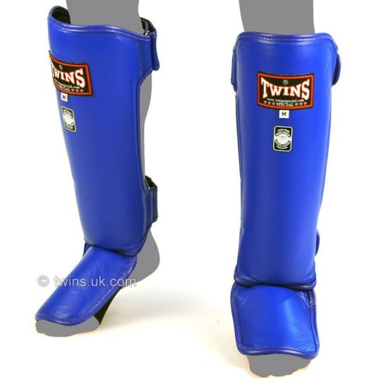 Twins-Special-Slim-Muay-Thai-Shin-Guards-Blue
