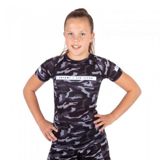 Tatami Kids Rival Short Sleeve BJJ Rash Guard