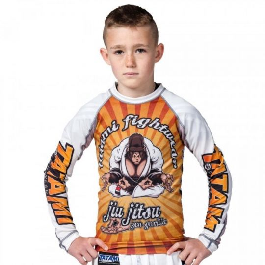 Tatami Kids Zen Gorilla BJJ Rash Guard