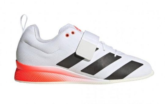 Adidas Adipower 2 Weightlifting Boots - White/Black