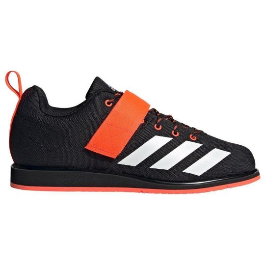 Adidas Powerlift 4 Weightlifting Boots - Black/White