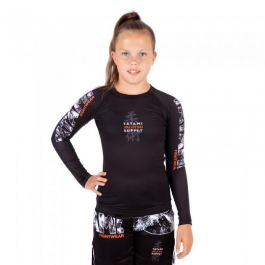 Tatami Kids Tropic BJJ Rash Guard