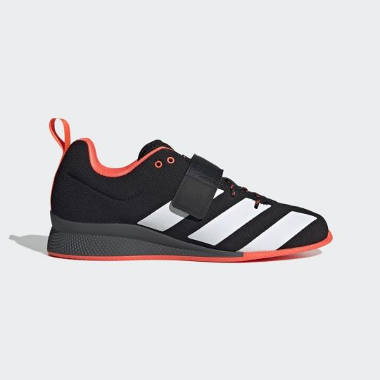 Adidas Adipower 2 Weightlifting Boots - Black/White