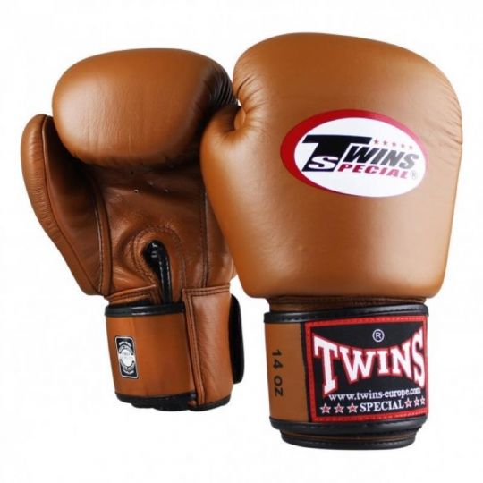 Gants de boxe Twins - Marron
