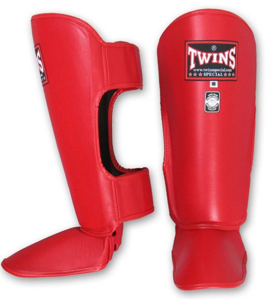 Twins-Shin-Guards-Red