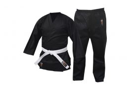 Cimac 8oz Black Karate Suit - Enfants et adultes