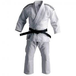 Adidas Champion II Judo Uniform White - IJF approuvé