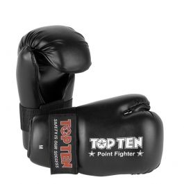 Gants Top Ten Pointfighter - Noir